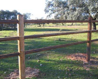 Cercas de madera para jard n agrobroker - Cercas de jardin ...
