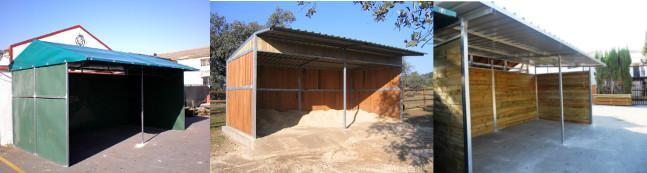 como hacer un cobertizo de madera son muchos los techos