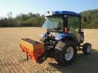 tractor de rejilla