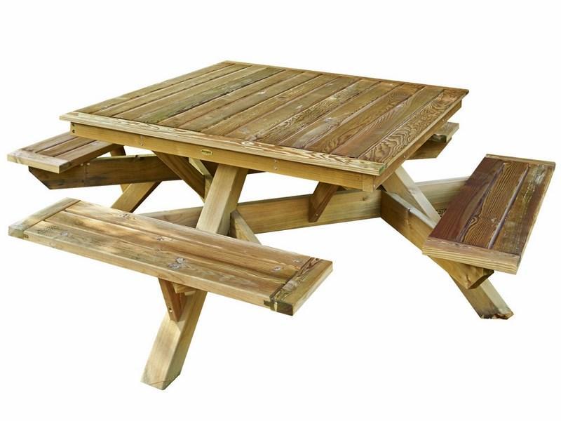 Mesa de picnic Marsella