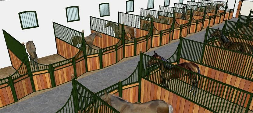 Diseño de cuadras para caballos