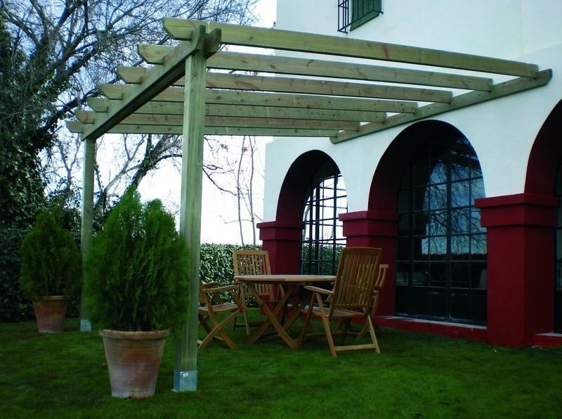 Forestgreen venta de madera tratada para exteriores - Postes para pergolas ...