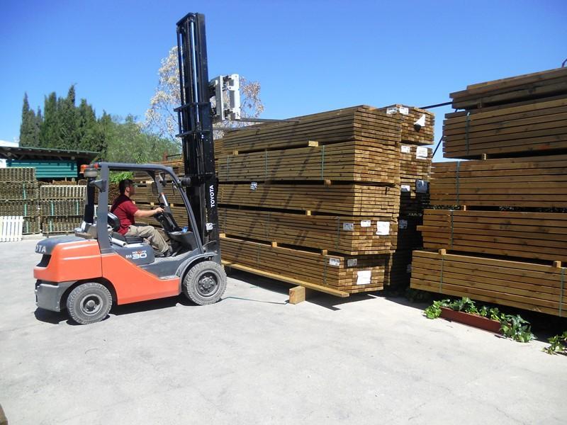 Almacén madera escuadría