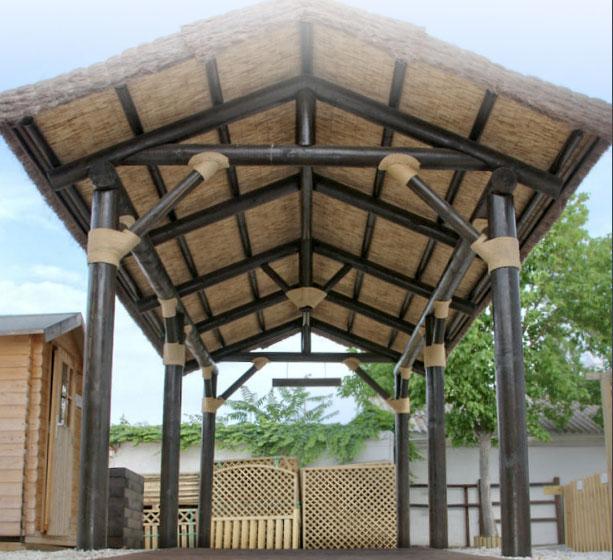 P rgolas de madera agrobroker - Construccion de pergolas de madera ...