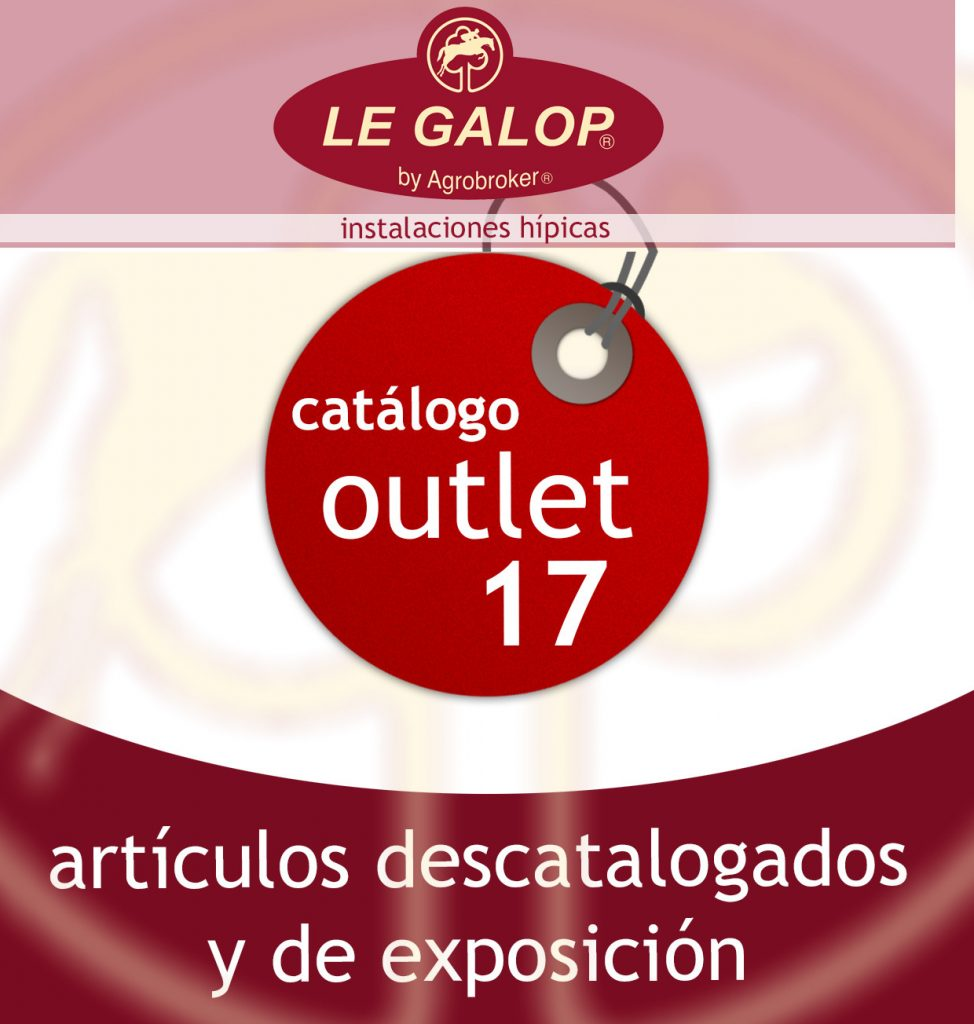 Portada del catálogo outlet de Le Galop